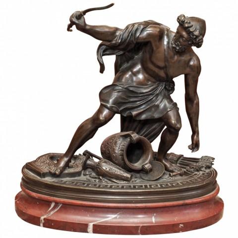 "19th C. French ""Grand Tour"" Bronze of Apollo"