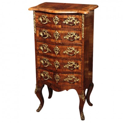 Continental 5 Drawer Small Chest
