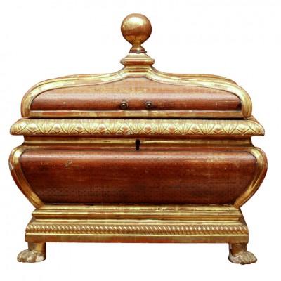 Large Italian Reliquary Box