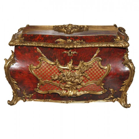 EXCEPTIONAL 18TH C FRENCH JEWELL CASKET