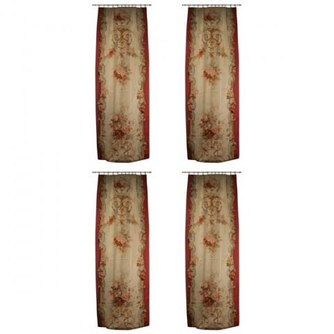 Four Napoleon III Aubusson Panels