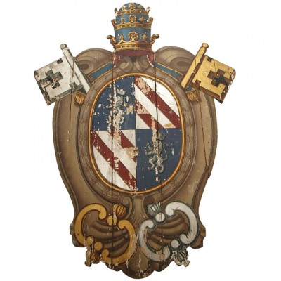 LARGE AMORIAL CREST