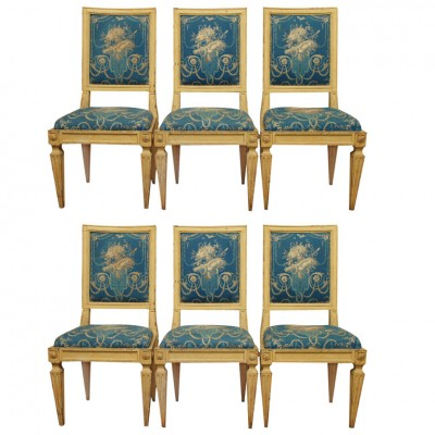 Itlain Directiore Side Chairs