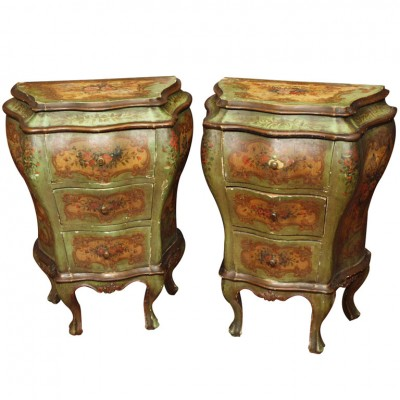 Early 19th Century Painted Italian Stands