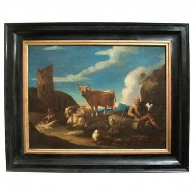 18TH C. DUTCH OIL ON CANVAS