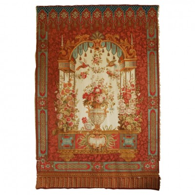 Napoleon III Abusson Tapestry With Metallic Threads