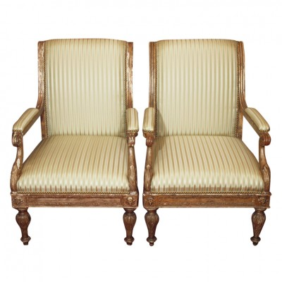 French Classical Armchairs