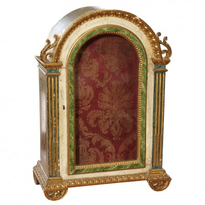 ITALIAN ARCHED TOP RELIQUARY