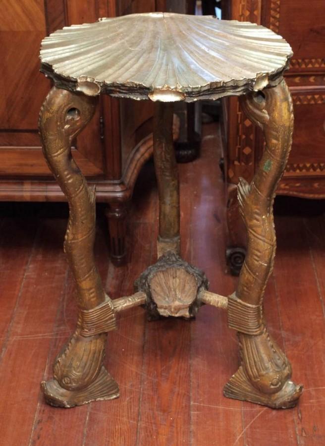 19th Century Venetian U201cFantasy Furnitureu201d Grotto Table