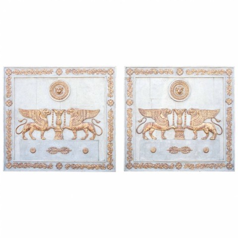Pair of Period Empire Boiserie Panels