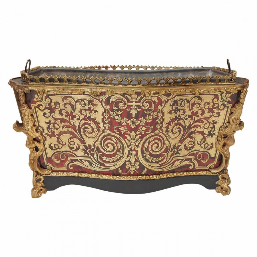French 19th century napoleon iii boulle jardiniere for Jardiniere napoleon 3
