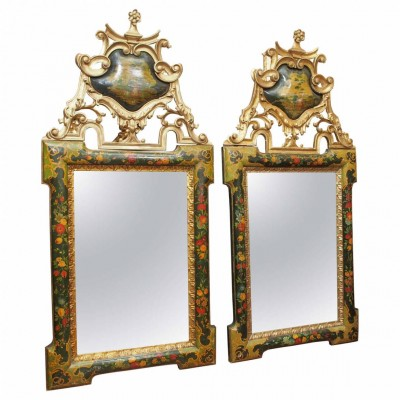 Pair of Late 18th/Early 19th Century Venetian Mirrors