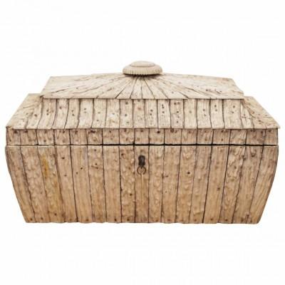 Indian Vizagapatam Antler Tea Box