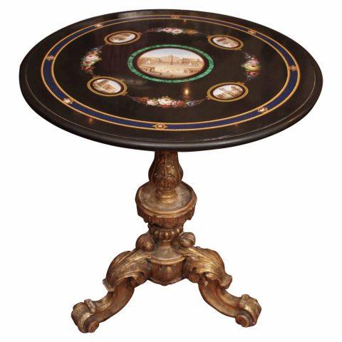 19th Century Italian Micro Mosaic Table