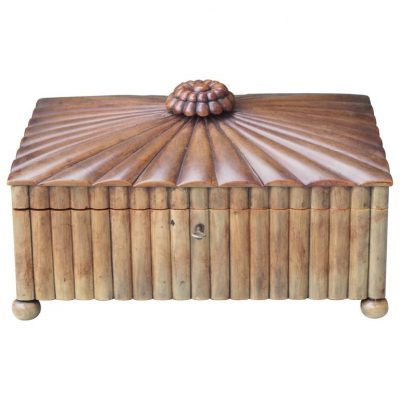 19th Century Indian Buffalo Horn Sewing Box