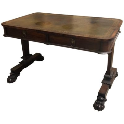 English William IV Rosewood Sofa Table