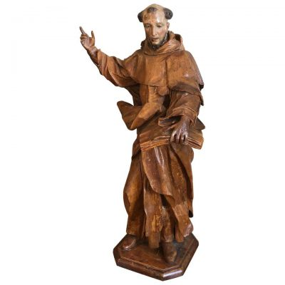 Italian Carved Religious Statue