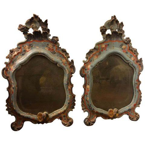 Pair of 18th Century Venetian Mirrors