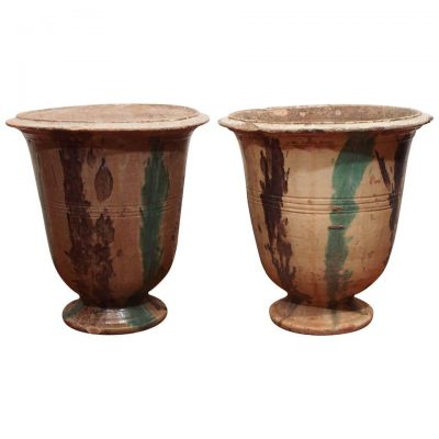 Pair of French Anduze Pots