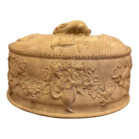 French Cane Ware Game Tureen