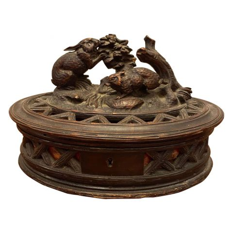 Black Forest Box with Bunnies